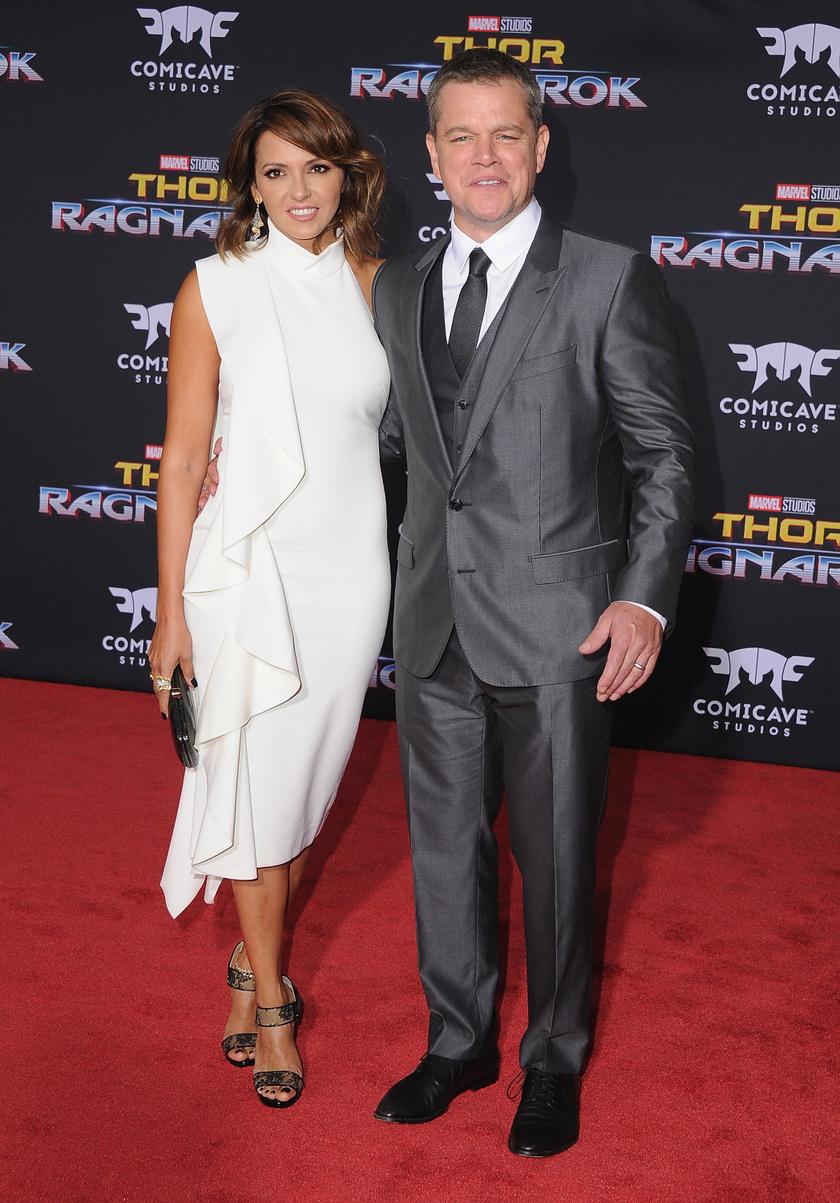 Matt Damon és Luciana 14 éve házasok, és négy gyereket nevelnek közösen.