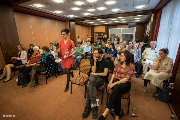Hallgatók az előadáson 2019. május 21-én