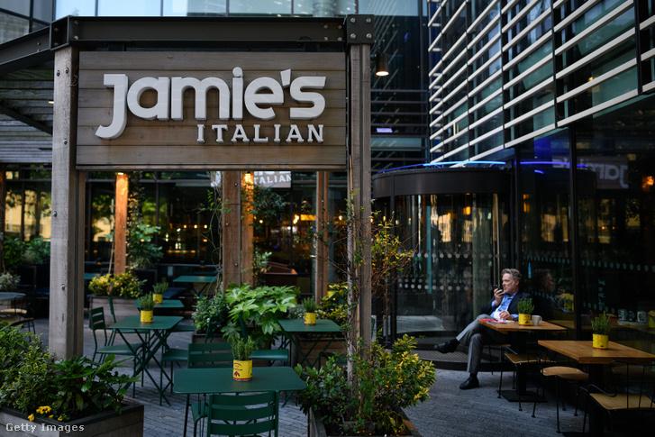 A londoni Jamie's Italian étterem 2019. május 21-én