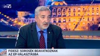 A Fidesz szerint a klímatüntetéssel valójában Soros avatkozik be az EP-választásba