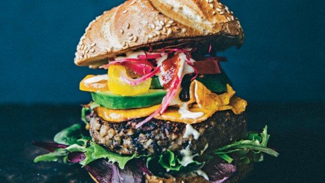 Kézműves vega burgerek   a nagyvilágból