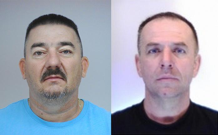 Eltűnt a 47 éves Antal Csaba (bal oldalt) és az 50 éves Pintér Gyula
