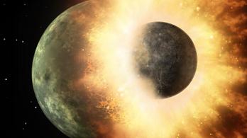 Törpebolygóval ütközhetett egykor a Hold
