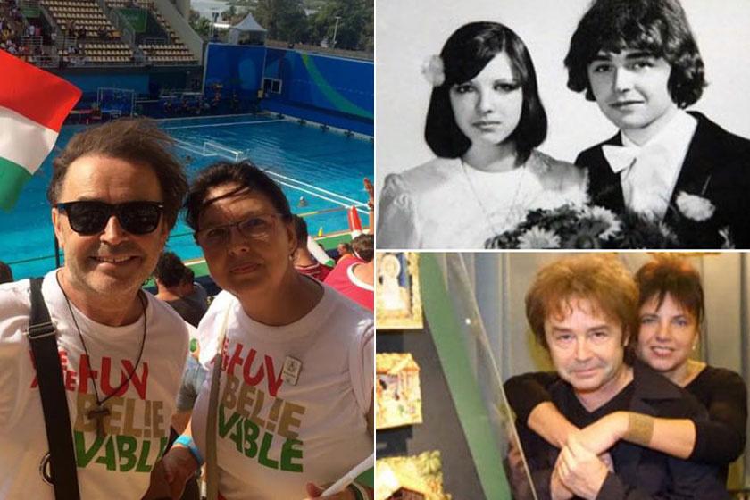 Szikora Róbert utoljára 2016-ban mutatta meg a feleségét, amikor a riói olimpián együtt szurkoltak a magyaroknak.