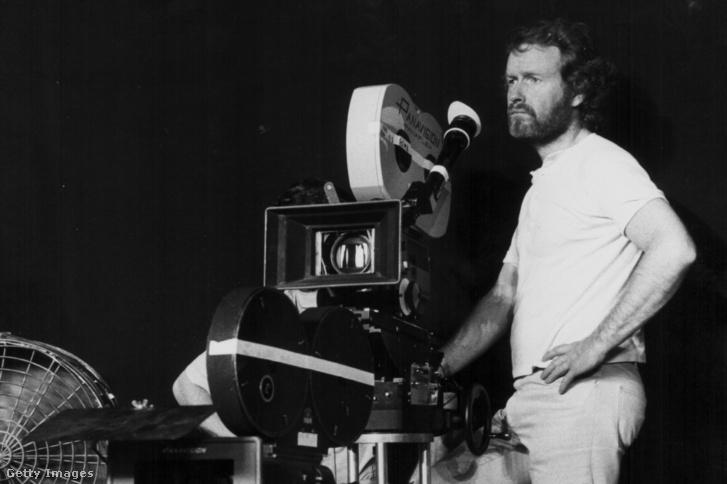 Ridley Scott az 1979-es Alien film forgatásán