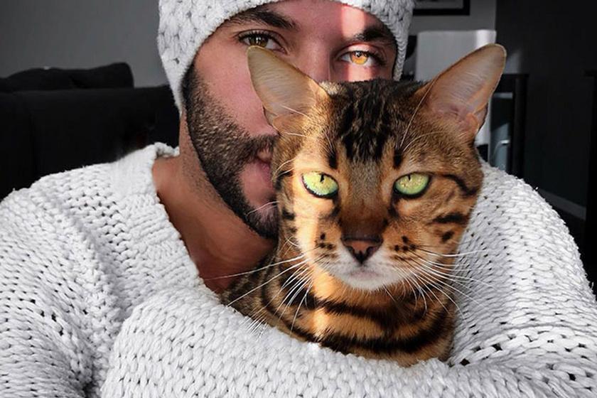 Ez történik, ha egy férfi, aki állítólag nem szereti a macskákat, talál egy kiscicát