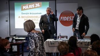 A Fidesz listavezetője elfoglalt volt interjút adni