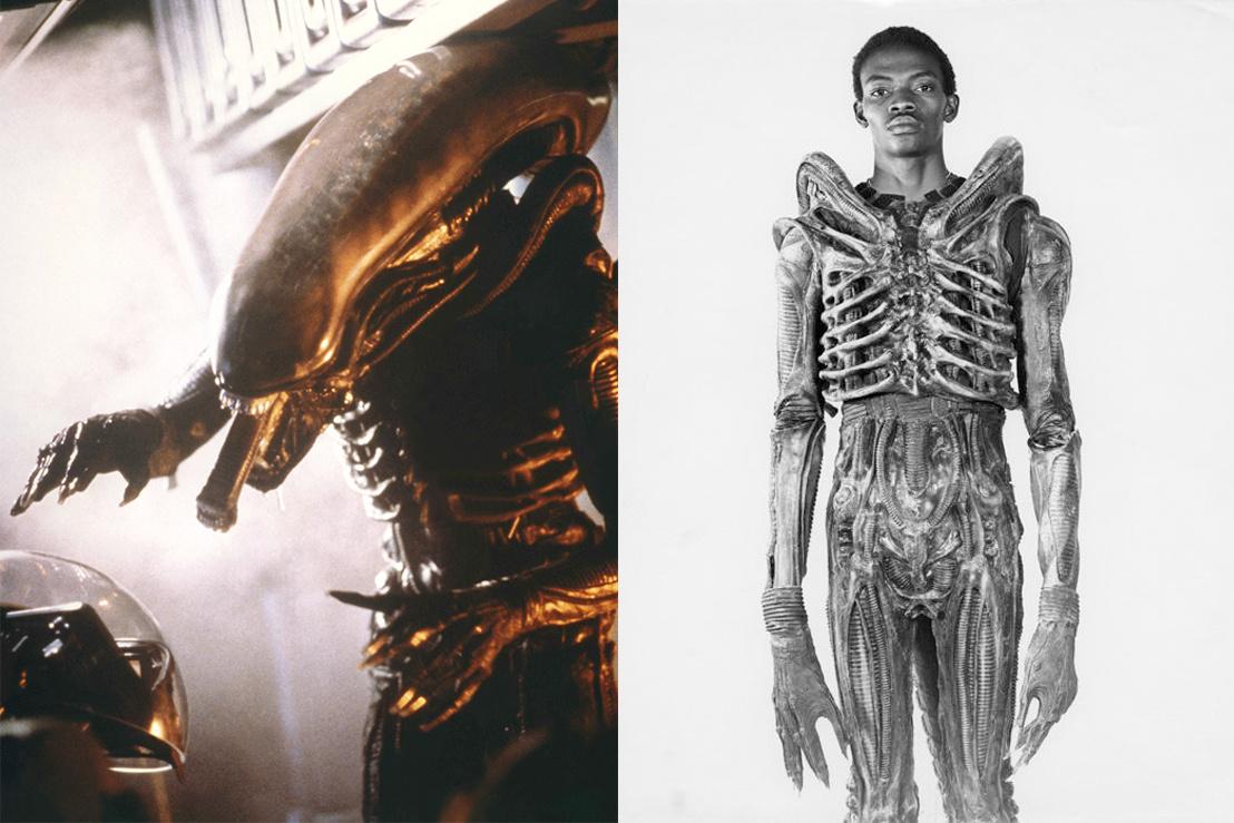 Bolaji Badejo az Alien (1979)-es filmjében, és a sisak nélkül