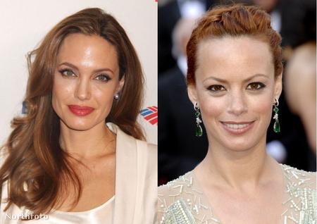 Jolie és Bejo