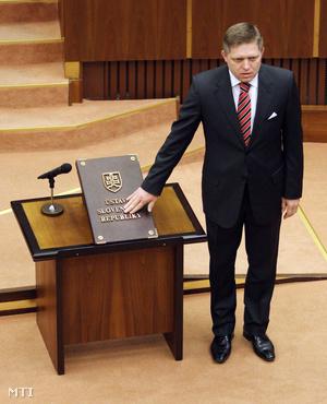 Robert Fico új szlovák kormányfő
