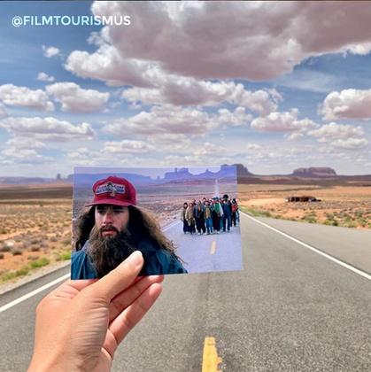 Arizona és Utah államok határához közel található az a hosszú egyenes, ahol Forrest Gump elfáradt
