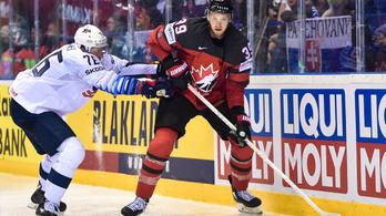 Eltiltották a brutális kanadai pontkirályt a hoki-vb negyeddöntőjéről