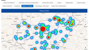 Megújult az online rendőrségi térképtár