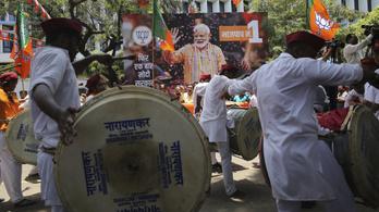 Marad a kormányon a hindu nacionalista párt Indiában