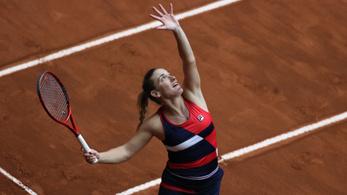 Babos Tímea egy győzelemre a Roland Garros főtáblájától