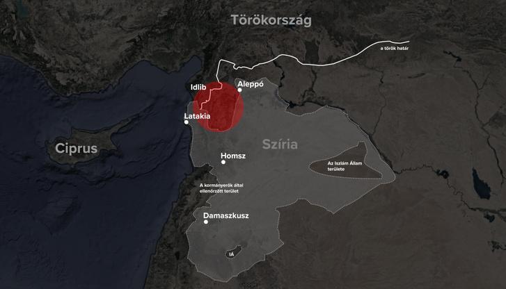 Grafika: A Syria Livemap augusztusi adatai alapján