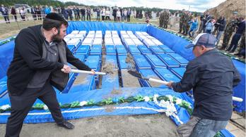 Eltemették a tömegsírban talált több mint ezer lemészárolt zsidót Fehéroroszországban