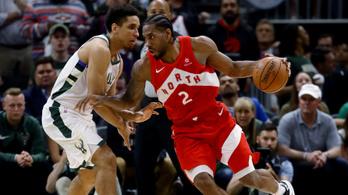 Fordított a Toronto az NBA keleti döntőjében, Kawhi volt az igazi szörny