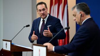 Orbán: Strache elfogadhatatlan kijelentéseket tett