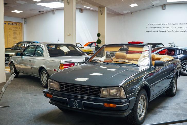 A Peugeot 505 Coupé és Cabriolet sajnos csak koncepcióig jutott