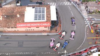 Tömegkáoszt okozott a monacói F2-n Mick Schumacher