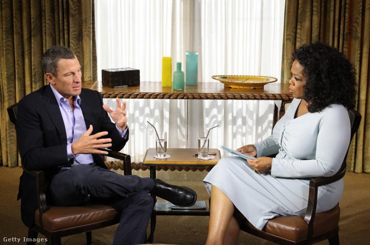 Armstrong és Oprah Winfrey 2013-ban