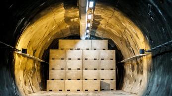 Jövőre új kamra nyílhat a bátaapáti radioaktívhulladék-tárolóban