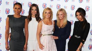 Victora Beckham és férje is sok sikert kívánt az újra turnézó Spice Girlsnek