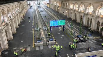 Hétfőtől újra nyitva a Keleti pályaudvar