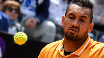 Kyrgios biztos nem fog botrányt okozni a Roland Garroson