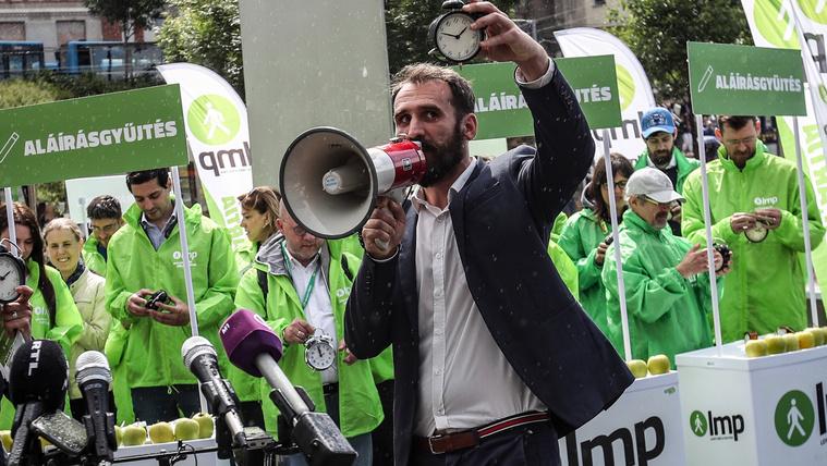 A nagyvállalatokat ekézték az LMP kampányzáróján
