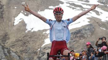 Már az első kétezres hegy csúcsra járatta az izgalmakat a Giro d'Italián