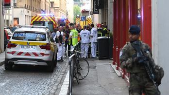 Robbanás történt Lyonban