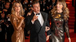 Sylvester Stallone nagyon kínosan pózolt Cannes-ban