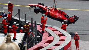 Félelmetes Ferrari-hiba a monacói időmérőn