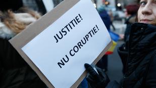 Az EP-választás mellett a korrupció ellen is háborúzik Románia