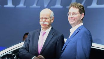 A Daimler távozó vezére még mondott pár jótanácsot búcsúbeszédében