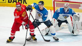 A finn kapus sokkolta Ovecskinékat hoki-vb elődöntőjében