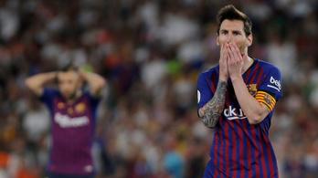 Újabb váratlan barcelonai kudarc, a Valencia nyerte a spanyol kupát