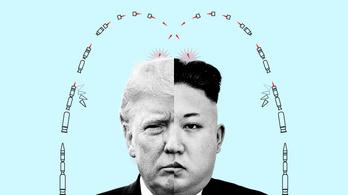 Trump: Kim Dzsongunék kilőttek néhány kisebb fegyvert, de nyugi