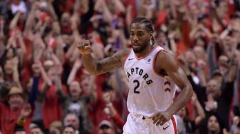 Történelmi összeomlás az NBA-ben, a Raptors mehet a döntőbe