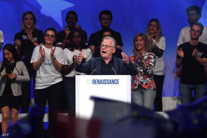 Daniel Cohn-Bendit egykori EP-képviselő beszéde a La Republique En Marche (LREM) párt záróeseményén, május 24-én
