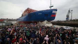 Gigantikus jégtörőkkel aknáznák ki az oroszok az Északi-sarkot