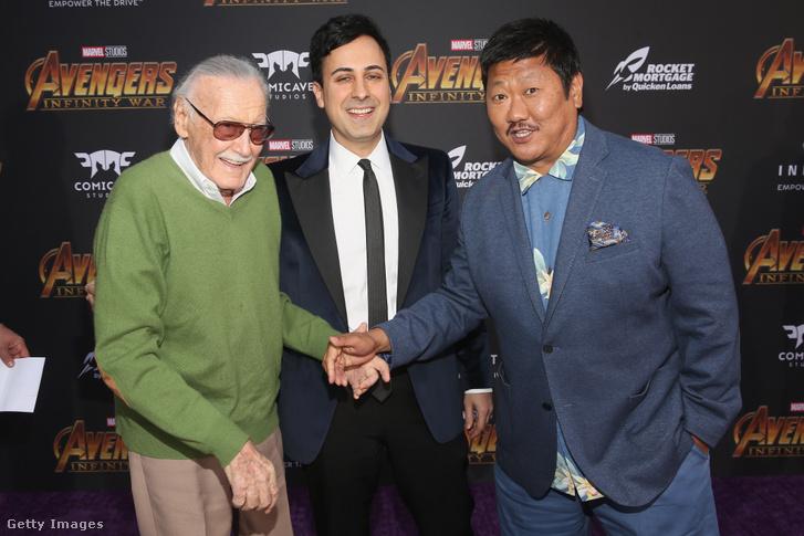 Stan Lee, Keya Morgan és Benedict Wong