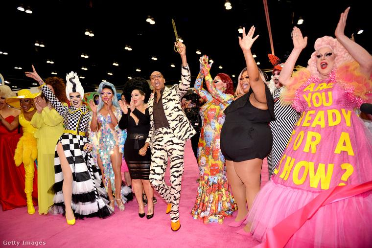 Ez a hétvége Los Angelesben a RuPaul's DragCon hétvégéje volt