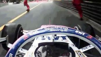 Hátborzongató kettős gázolástól menekült meg az F1