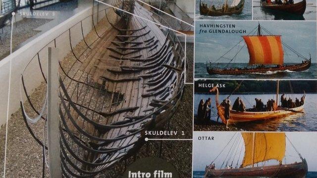 Vikinghajók és katedrális Roskildébenn
