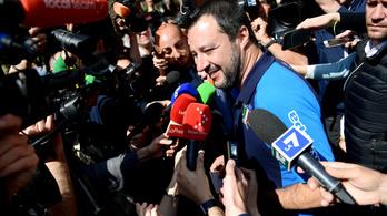 30 százalék körül kapott Salvini