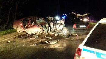 Mindkét sofőr ittas volt a hat halálos áldozattal járó fegyverneki balesetben