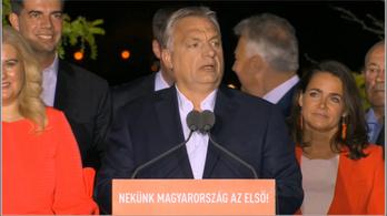 Orbán Viktor vágatlan győzelmi beszéde